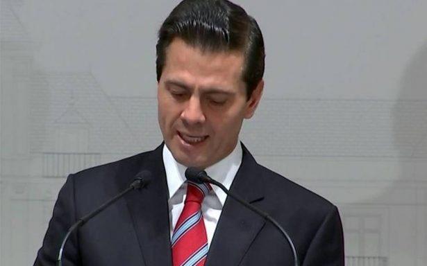 Peña Nieto destaca compromiso de México y España para promover la cultura