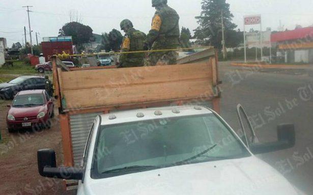 Asegura Ejército seis mil litros de combustible ilícito en Tlaxco