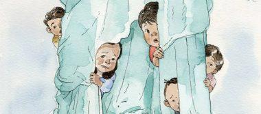 Niños migrantes temerosos protagonizan portada de The New Yorker