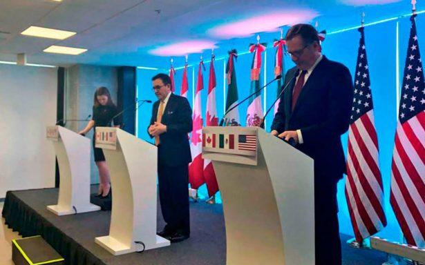 No hay progreso esperado en negociación del TLCAN: EU; se concretan 6 capítulos