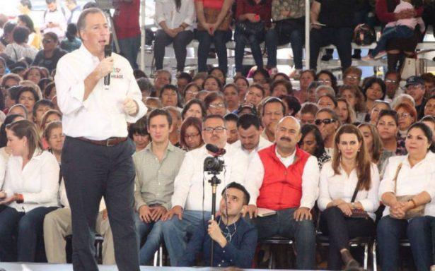 """""""Vamos a ganar""""; Meade rechaza declinar a favor de Anaya"""