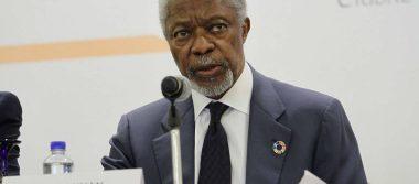 Líderes del mundo lamentan la muerte Kofi Annan, exsecretario general de ONU