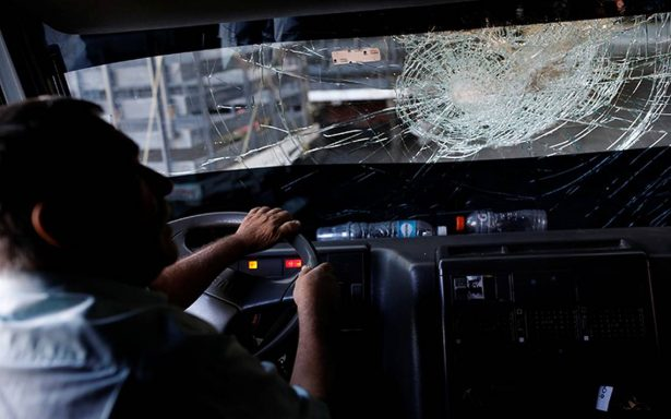 Furia en la carretera, asaltos a camioneros