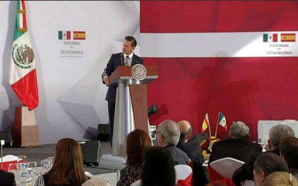 México no habrá de reconocer decisiones unilaterales: EPN sobre Cataluña