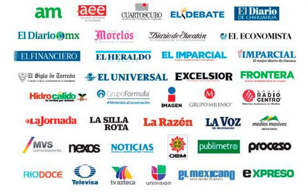#BastaYa Medios nacionales se unen por la protección a periodistas