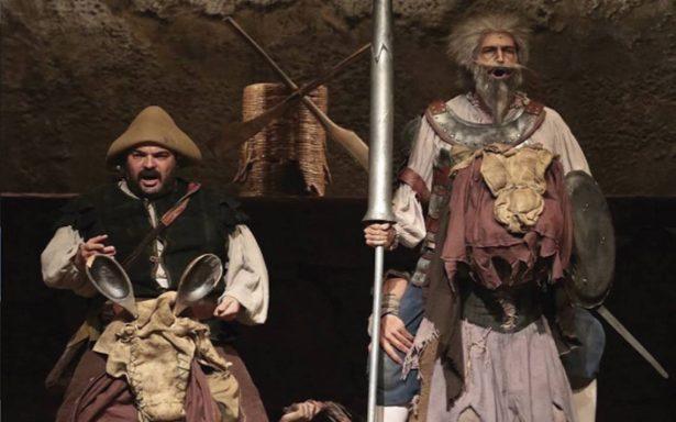 Se repone El hombre de la mancha con nuevo Don Quijote