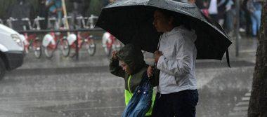 Activan alerta amarilla en siete delegaciones de CDMX por lluvia y granizo