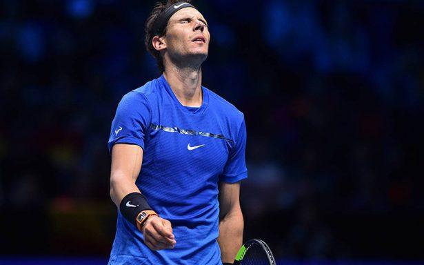 Por su rodilla, Nadal pierde contra Goffin y le dice adiós al Masters