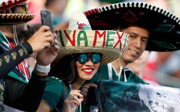 Aficionados mexicanos, entre los que más gastaron en el Mundial Rusia 2018