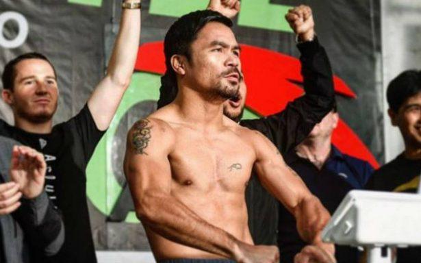 Pacquiao, ansioso por pelear con el argentino Matthysse