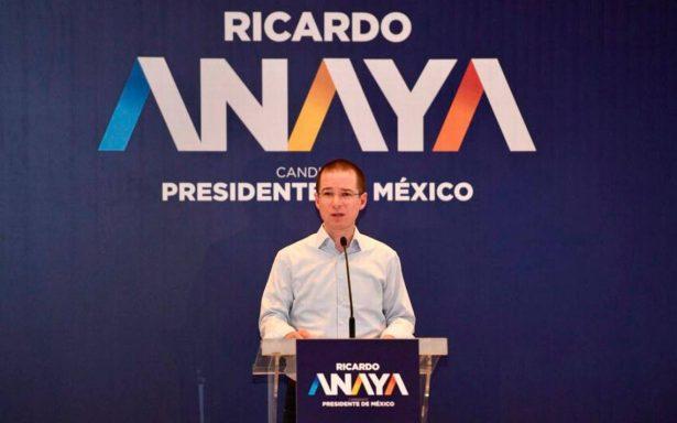 Anaya propone la creación de un ombudsman para proteger la inversión en México