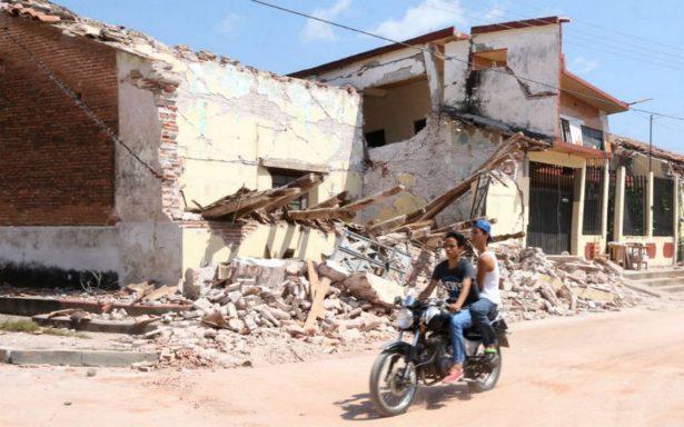 Ya son 96 las víctimas mortales por sismo de 8.2 grados; van 76 en Oaxaca