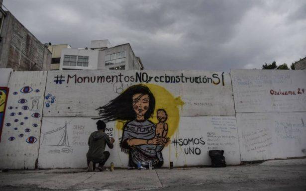 Esto es lo que ha pasado con la construcción del memorial en Álvaro Obregón