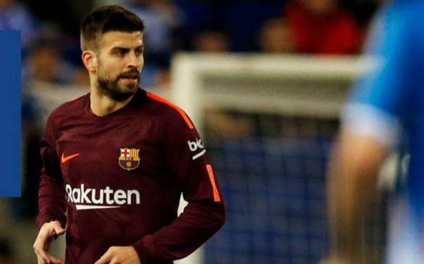 Piqué, duda en Barcelona para vuelta de semifinales Copa del Rey
