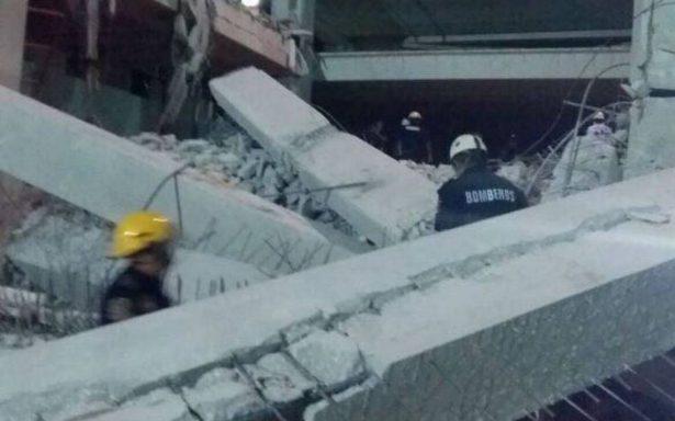 Colapsa edificio en construcción en Mérida; hay cuatro muertos
