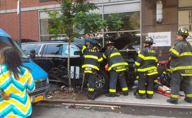 Vehículo atropella a peatones en Manhattan; hay al menos 10 heridos