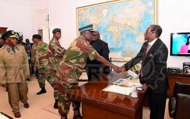 Mugabe ya aceptó renunciar a la presidencia de Zimbabue