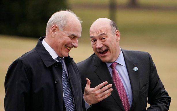 Renuncia Gary Cohn, asesor económico de Trump, tras polémica por arancel al acero