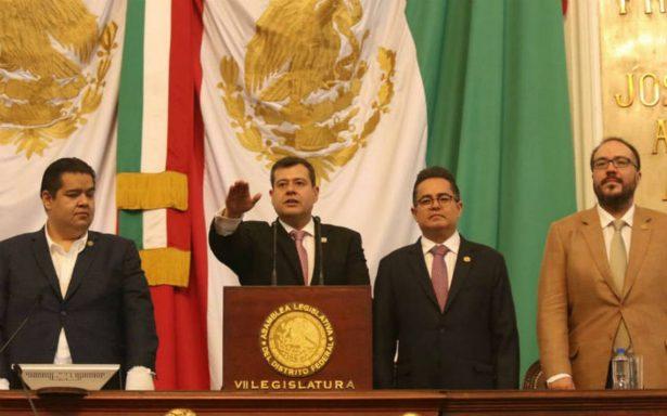 ALDF elige a José Ramón Amieva como Jefe de gobierno sustituto de la CDMX