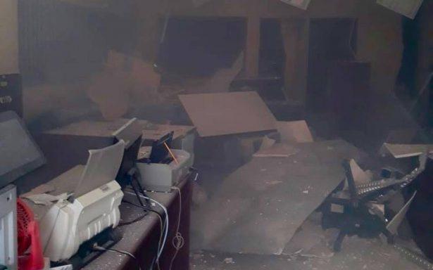 Se registra explosión en el penal de Cuautitlán