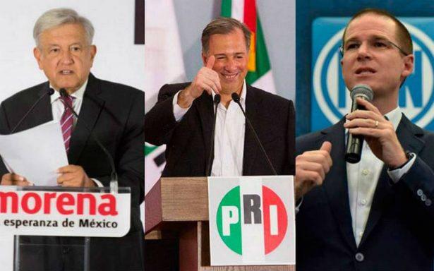Como candidatos presidenciales, Meade, AMLO y Anaya se comprometen a combatir la corrupción