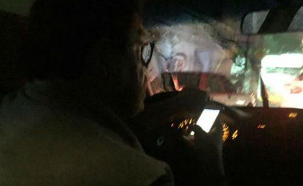 [Video] Exhiben a chofer de Uber que veía porno ¡mientras conducía!