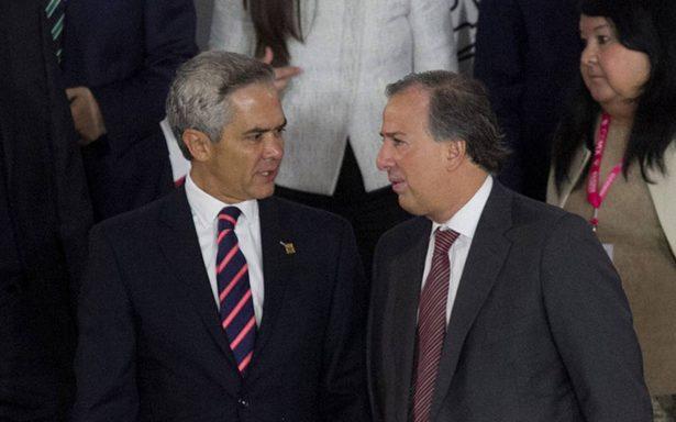 Meade y Mancera discutirán sobre el acceso a recursos del Fonden en la CDMX