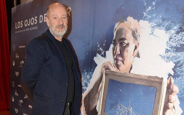 """El cineasta, José Álvarez, que estrena hoy el documental """"Los ojos del mar"""""""