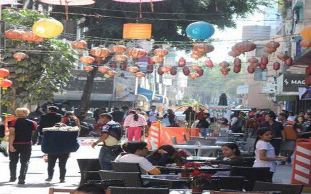 Continúan las obras para remodelar el Barrio Chino de la CdMx