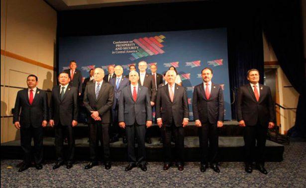 Analizan migración y narco en Cumbre de Prosperidad en Centroamérica