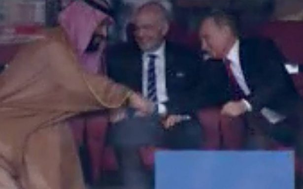 "Putin le dice ""ni modo"" al príncipe de Arabia Saudita tras goliza de Rusia"