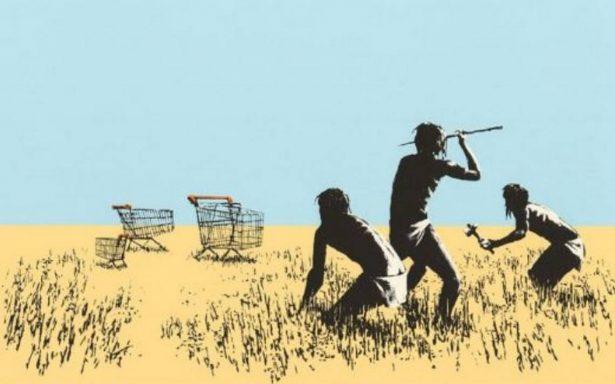 ¿Karma? Roban arte de Banksy de una galería en Toronto