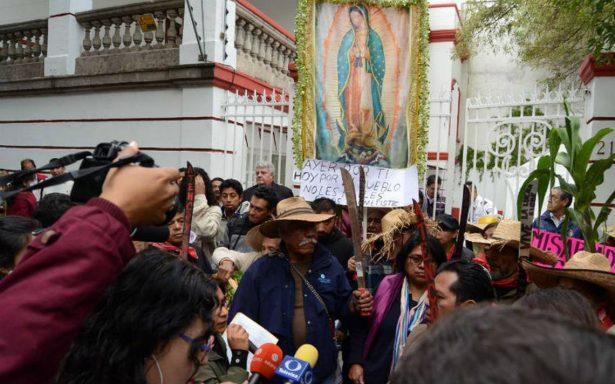 Pobladores de Atenco demandan una reunión con AMLO por el nuevo aeropuerto