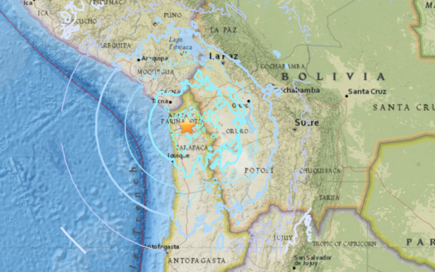 Sismo de 6.3 grados sacude el norte de Chile
