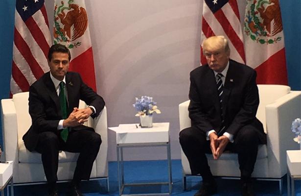"""Importante dar solución a """"dreamers"""", señala Peña Nieto a Trump"""