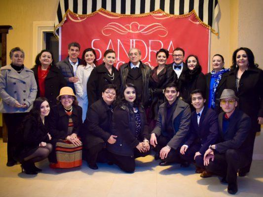 Festejan a Sandra Ochoa