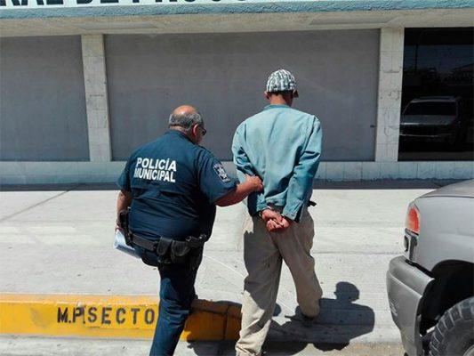 Detienen a sospechoso con droga en La Topahue