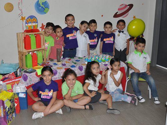 Festejaron a Francisco Adrián