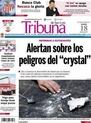 Portada Tribuna 18 mayo 2017