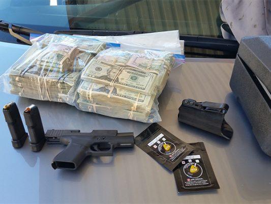 Decomisan droga y 70 mil dólares en efectivo en Yuma