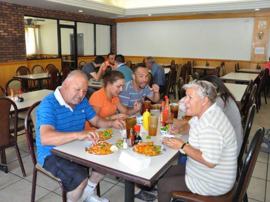 Restaurantes los más concurridos por familias sanluisinas