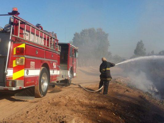Incendio en canal Zacatecas