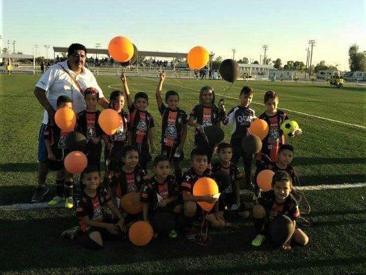 En el futbol Infantil menor Pachuca campeón