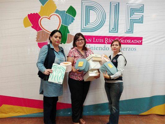 Dona Centro Regional de Yuma prótesis a sobrevivientes de cáncer atendidos por DIF