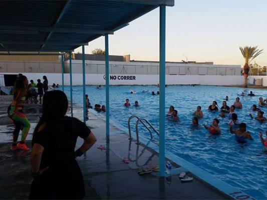 Arranca temporada de clases en Alberca Municipal