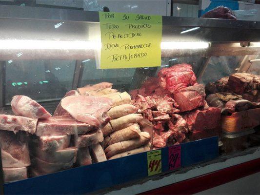 Autoridades no informan a vendedores de carne sobre Guillain Barré