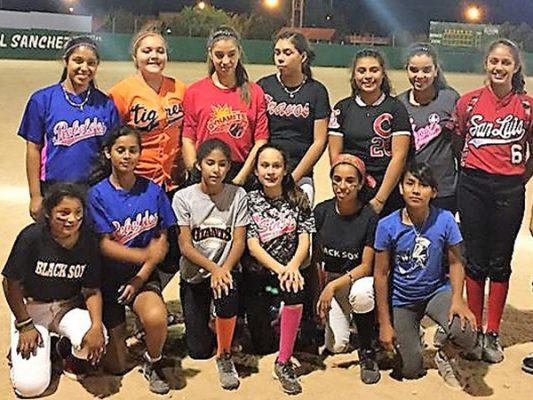 San Luis sede de estatal de softbol Sub-12 y Menores de 14
