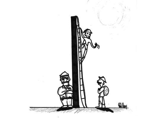 Escalera secreta