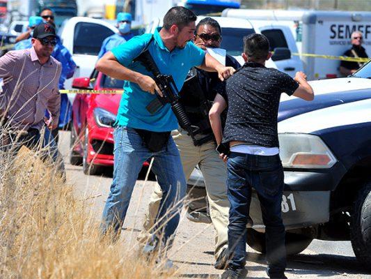 Abaten ministeriales a presuntos asesinos en Nogales