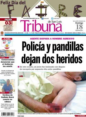 Portada Tribuna 18 junio 2017
